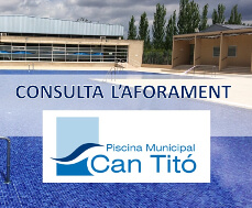 Estat de l'aformarament Piscina Can Titó